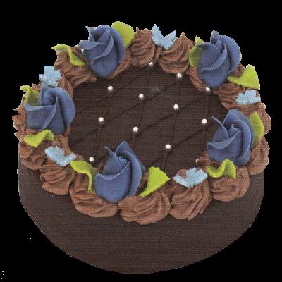 čokoládový + přízdoba