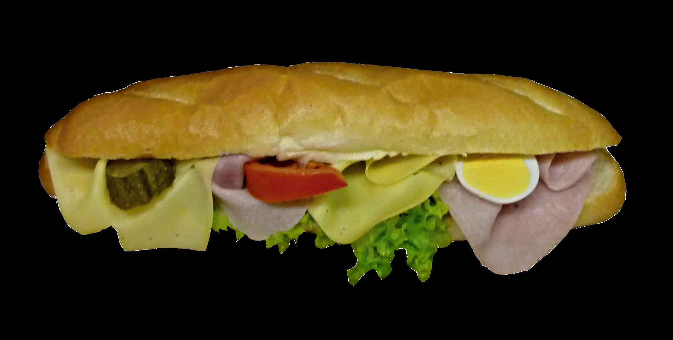bageta šunka-sýr (1)