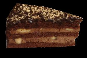 Čokoládový dort s banánem40,-Kč