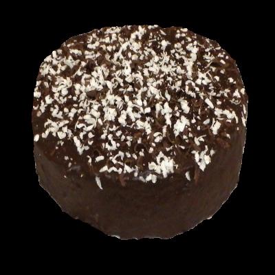 čokoládový dort s banánem
