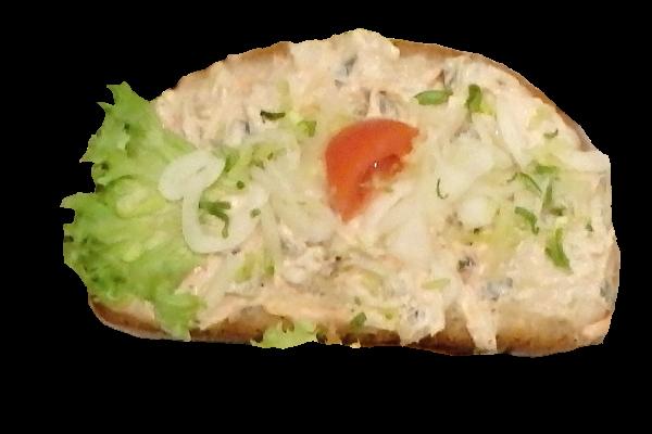chleba s tuňákem