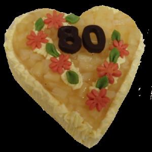 Srdce ananas250,-Kč
