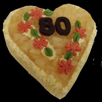 srdce – ananas
