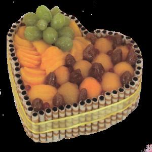 Ovocné srdce420,-Kč