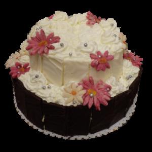Svatební dort šlehačkový