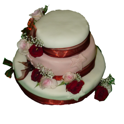 svatební dort bordo