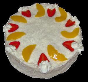Ovocný dort ze zakysané smetany 370,-Kč